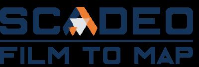 logo SCADEO, solution de récolement vidéo en fouille ouverte